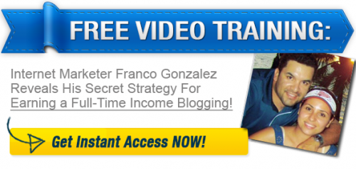 Franco Gonzalez Make Money Blogging