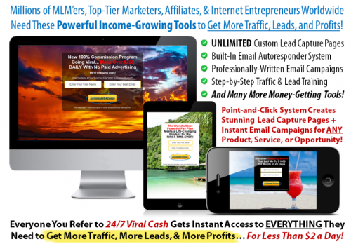 Power Lead System Internet Marketing Tool Suite
