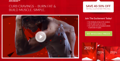 Jeuness Global Zen Body Weight Loss