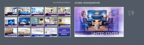 Jeunesse Global Offices Due Diligence Review page