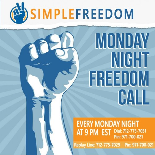 Simple Freedom Call Mondays