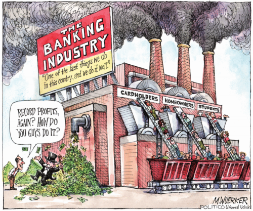 Banking Industry Destroying the Middle Class
