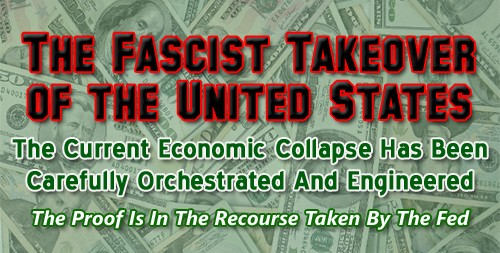 The Fascist Takeover of the United States