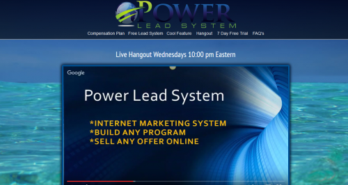 Power Lead System Overview Hangout