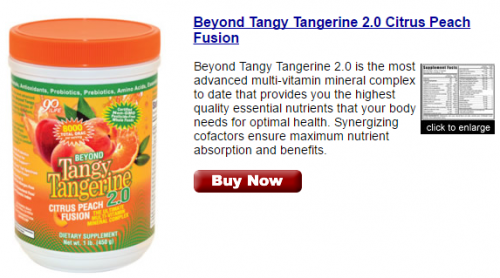 Tangy Tangerine Youngevity