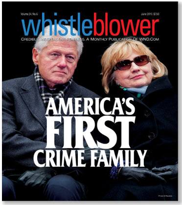 Clinton Crime Family Bill and Hillary Clinton