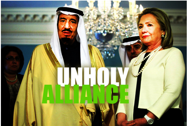 Hillary Clinton Saudi Arabia Money