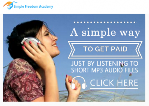 Simple Freedom Affiliate Marketing Training