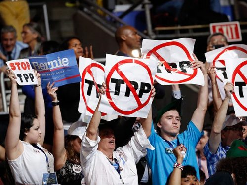 Stop TPP Trans-Pacific-Partnership Trump