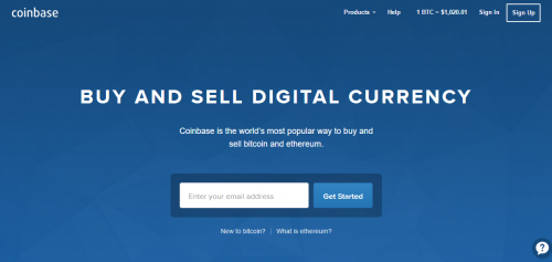 Coinbase Bitcoin Cryptocurrency