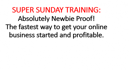 Super Sunday Training Simple Freedom Power Lead System