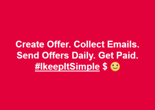 Simple Freedom Power Lead System Collect Emails Get Paid