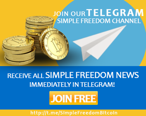 Simple Freedom Bitcoin Cryptocurrency Telegram Channel