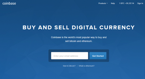 Coinbase Bitcoin Cryptocurrency Exchange Buy Bitcoin