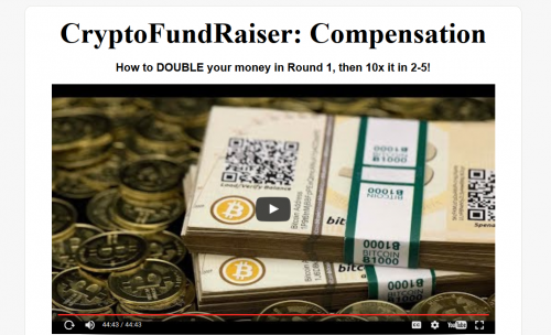 Cryptofundraiser bitcoin cryptocurrency affiliate marketing simple freedom