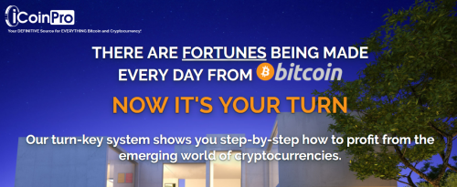 iCoinPRO Bitcoin Cryptocurrency Trading Education and Training plus Tools