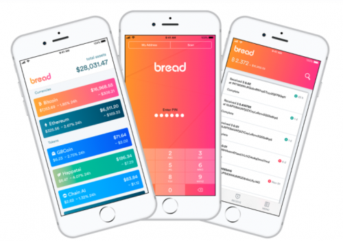 Bread $BRD Bitcoin Wallet Decentralized Banking