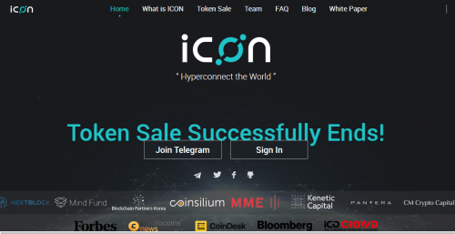 ICON Foundation $ICX Decentralized Cryptocurrency Exchange and Blockchain Network