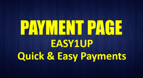 Easy1Up Payments Page
