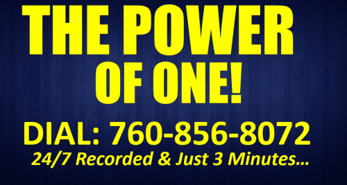 The Power of One Dial 760-856-8072 Simple Freedom Easy1Up Vertex Lead System Training