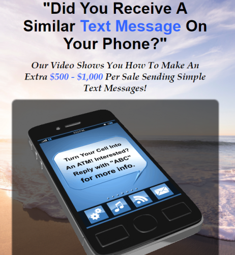 Text Phone Marketing Lead Generation System and Leads