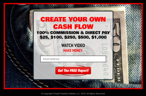 SimpleFreedomEasy Easy1Up Marketing System Lead Capture Page