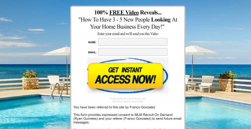 MLM Recruit On Demand