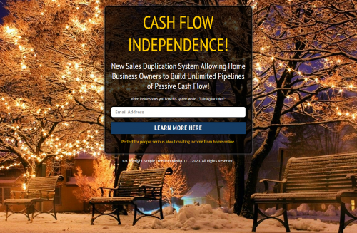 SIMPLE FREEDOM CASH FLOW INDEPENDENCE MGTOW HOME BUSINESS