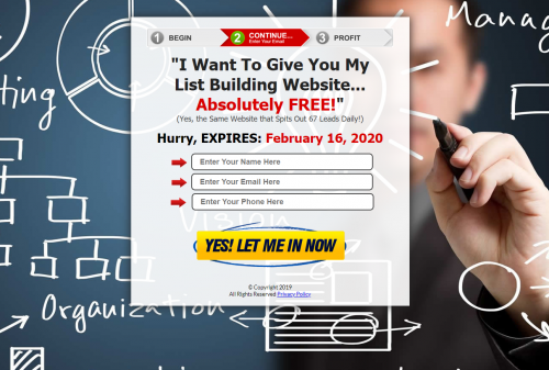 Free Leads System Simple Freedom Cash Club MGTOW Home Business Passive Income System