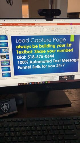 Simple Freedom Textbot Lead Capture Page Affiliate Marketing School